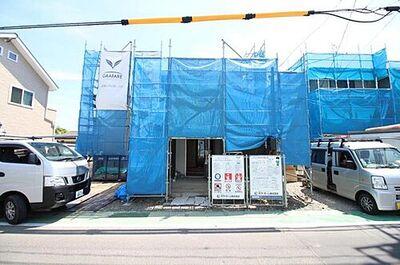 グラファーレ 利府町加瀬 3号棟 現地写真底板一面が鉄筋コンクリートになっているベタ基礎。