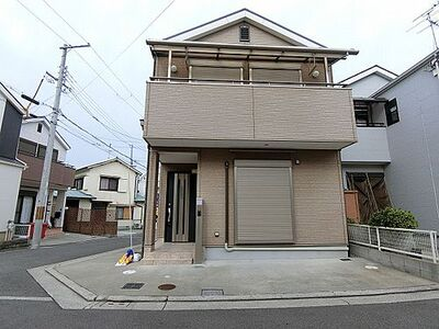 堺市中区新家町 中古一戸建て 南西角地につき陽当たり・通風良好