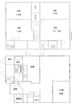 鉾田市荒地 中古住宅