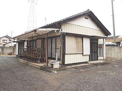 伊勢崎市末広町 中古 3DK 建物外観です。