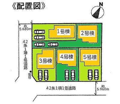 リナージュ  大津市仰木の里東 IDK 区画図です
