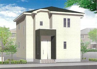 グラファーレ二本松市油井4期 全8棟 5号棟 完成予想図 平日・当日のご案内可能です。お気軽にお問い合わせくださいませ。