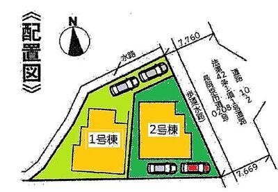 リナージュ  長岡京市柴の里 IDK 区画図です