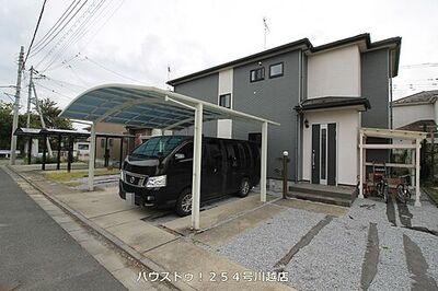 大字菅間 中古戸建 緑に囲まれ、落ち着きのある住環境です♪