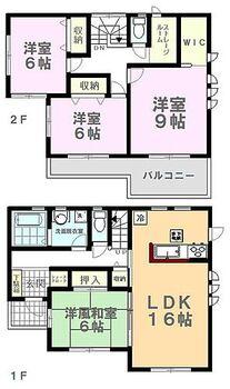 LiveleGarden.S下野小金井第4 2号棟 間取り図です