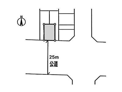 中古戸建 全1棟 川口市里 鳩ヶ谷駅徒歩12分 区画図