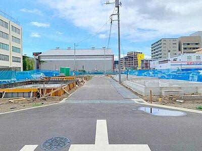 厚木市田村町 新築分譲住宅 7号棟 本厚木駅徒歩10分の立地に全8棟の新築住宅が誕生します。