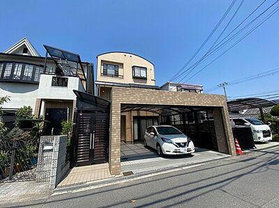 堺市中区東山 中古一戸建て 駐車2台可能な大型カーポート付きの物件!
