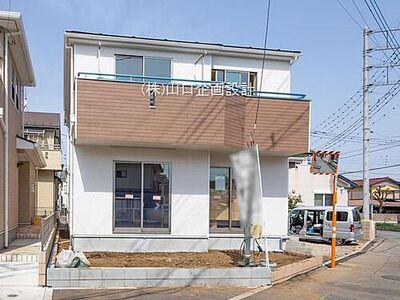 所沢市上安松 新築分譲住宅 開放感のある立地 日当たり良好です。