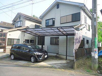 久保沢2丁目の4LDKの中古住宅 (8365-1) カーポート付き外観写真(カースペース2台可、但し、車種によります。)