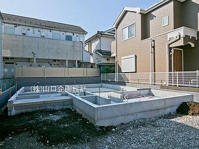 所沢市緑町4丁目 新築分譲住宅 建築が始まりました。