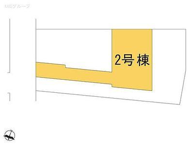 南区松本5期 新築一戸建て 全3棟 2号棟 図面と異なる場合は現況を優先