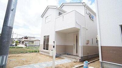 岩沼市栄町第4 全2棟 2号棟 現地外観写真 堂々完成。平日のご案内も可能です