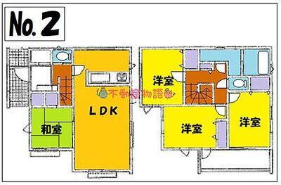 川越市今成第2期 新築住宅 西川越駅物件 2号棟間取り
