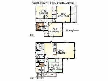 富山市高屋敷字上り立割 新築一戸建て 1号棟