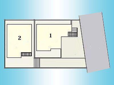 多摩モノレール 中央大学・明星大学駅 大塚 戸建 1号棟 区画図