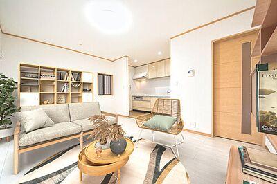 船橋市三山2丁目 中古戸建 (配置してある家具はCGによるイメージ)