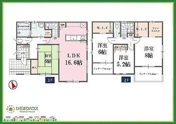 龍ケ崎市城ノ内5期 新築戸建 3号棟 すぐ横になれる和室は、みんなの憩いの場(*^-^*)