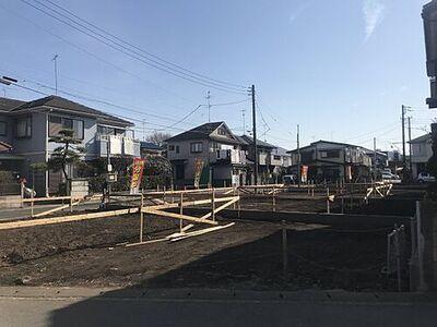 宮沢2丁目新築戸建 外観パース