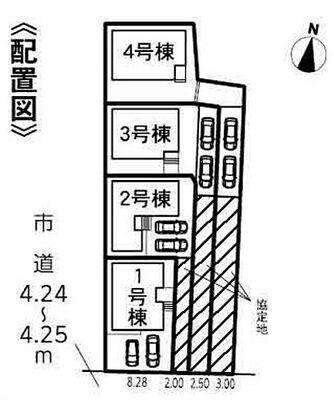 豊川市小坂井町20-1期 全4棟 1号棟 1号棟