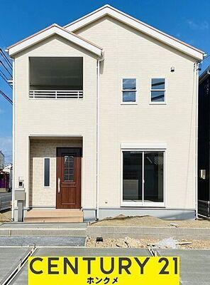 リーブルガーデン 岐南町伏屋 3号棟 外装完成です。内覧はもう少しで可能です。