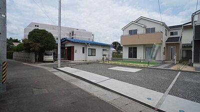 福島市飯坂町第2 全2棟 1号棟 現地外観写真 陽当りや周辺施設など現地でご確認くださいませ