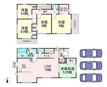 桜井市大豆越3期 1号棟 新築戸建