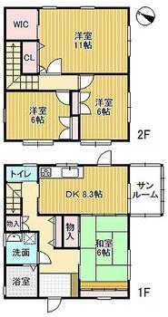 小矢部市下島 中古住宅 970万円