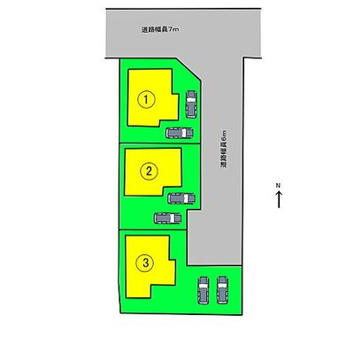 Asta G 葛城市第3木戸 配置図