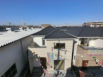 草加市弁天2丁目 新築一戸建て 第1期14号棟 弁天に新たなコミュニティが誕生 全棟完成いたしまいた。南道路で明るい14号棟です