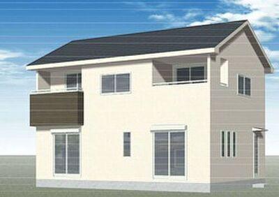 LiveleGarden.S 高崎市箕郷町生原第5 全4棟 建築中の為、完成予測図をご覧ください。