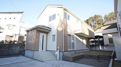 青葉区小松島第4 全2棟 2号棟 現地外観写真 堂々完成。内覧可能です。お気軽にお問い合わせください。