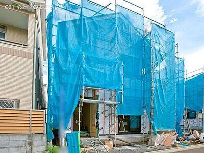 座間市入谷西4丁目1期 新築分譲住宅 3号棟 2021/09/03 確認(撮影日:2021/08/25)