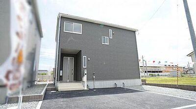 東松島市あおい第1 全3棟 3号棟 現地外観写真 陽当りや周辺施設など現地でご確認くださいませ