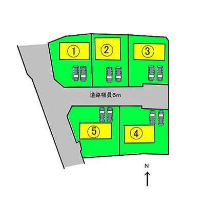 Cradle G 葛城市中戸 配置図