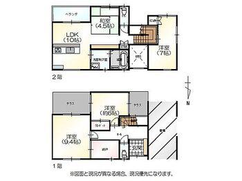 福井市開発2丁目 中古一戸建て