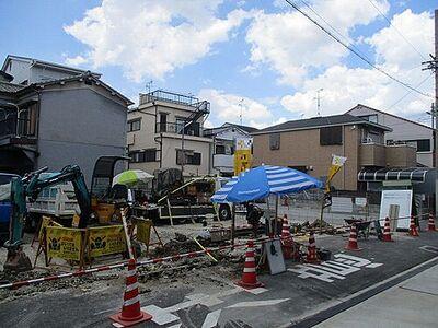 東大阪市大平寺1丁目 新築一戸建て A号地 現在更地完成が楽しみです