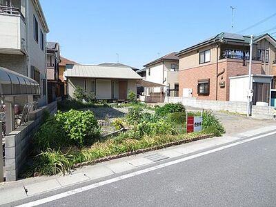 飾磨区若宮町 中古戸建 日当りの良い南向きです。