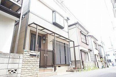 さいたま市桜区町谷4丁目 中古 3DK納戸 建物外観です。
