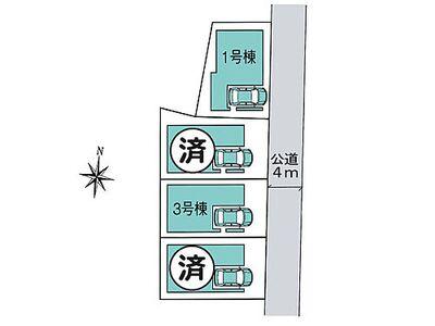 さいたま市桜区田島 区画図