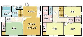 高崎市中島町 中古住宅 4LDK 収納充実しているのでお家の中スッキリ片付きますよ♪