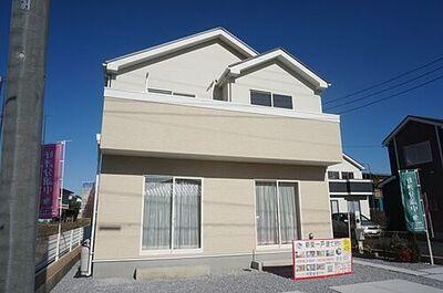 江曽島町3期 B棟 同社施工物件。完成物件と異なる場合がございます。