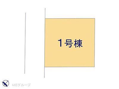 狭山市広瀬3丁目 5期 新築一戸建て 全1棟 区画図