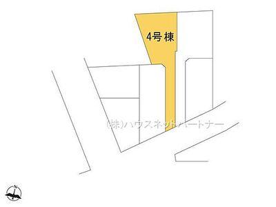 西川口15分の中青木第9期 4号棟 区画図