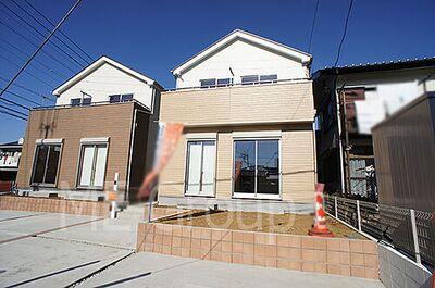 柏市松葉町3丁目 新築一戸建て 全2棟 2号棟 外観 1/11撮影