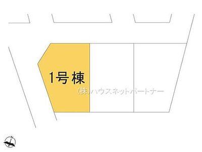 鳩ヶ谷本町5期 1号棟 区画図