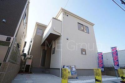 松戸市岩瀬第2 新築一戸建て 全2棟 外観