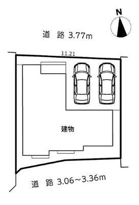 浜松市中区幸18-2期 全1棟 建物面積103.91m2、土地面積118.95m2/35.98坪