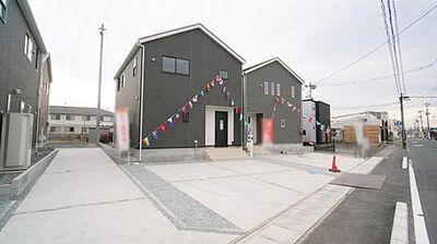 大崎市古川幸町第1 全5棟 2号棟 外観写真 是非一度ご見学下さい。お問合せお待ちしております