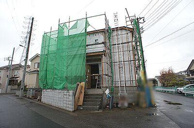 川口市差間22期 新築一戸建て 全2棟 1号棟 12/1撮影